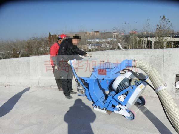 桥面防水粗化设备是怎样作业的?